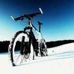 Zimska vožnja s kolesom