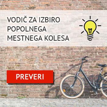 Vodič za izbiro mestnega kolesa