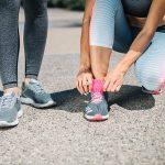 Stoplani lok in tekaški čevlji