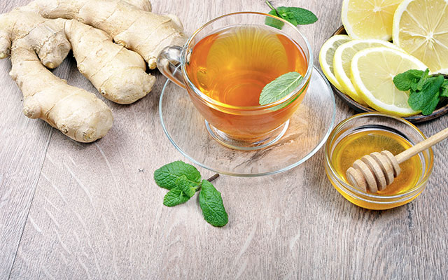 Čaj z ingverjem