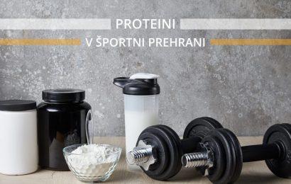 Proteini v športni prehrani