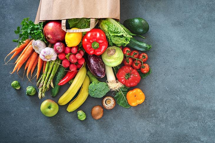 Zelenjava za mišice