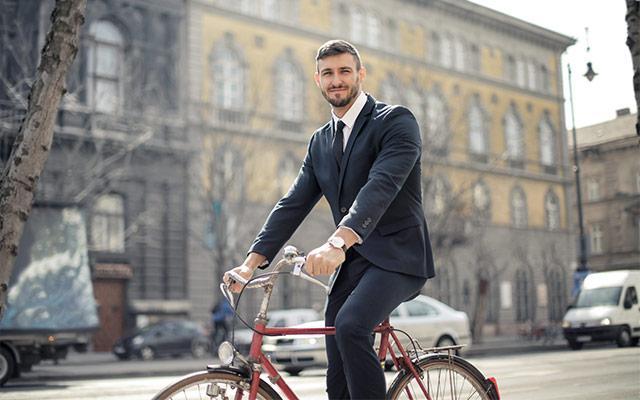 Vožnja na delo s kolesom