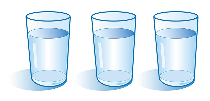 Trije kozarci vode