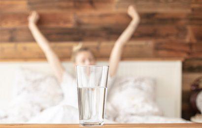 Voda pred jutranjo kavo