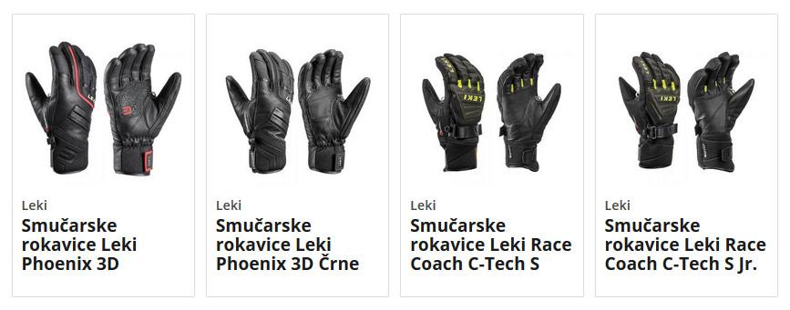 Smučarske rokavice Leki