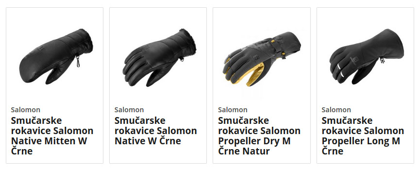 Smučarske rokavice Salomon