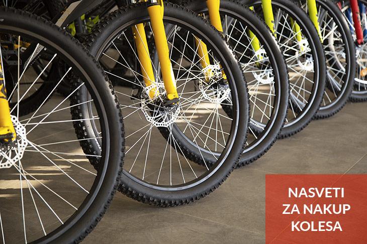 Nasveti za nakup kolesa