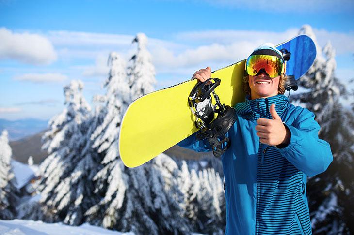 Snowboard za začetnika