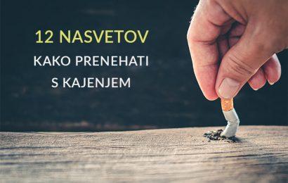 Kako prenehati s kajenjem