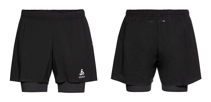 """Kratke hlače Odlo Zeroweight 5"""" 2in1"""