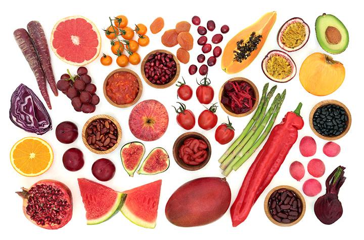 Vlaknine - živila
