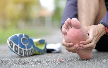 Bolečina stopala med tekom